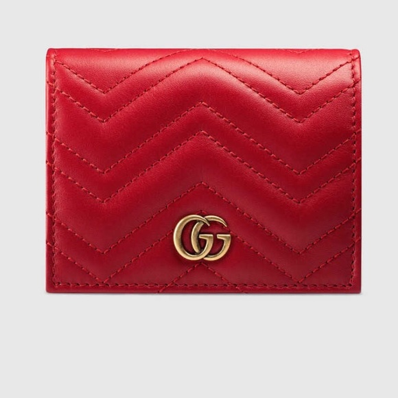 1c3b7b3c686 Gucci GG Marmont Card Case